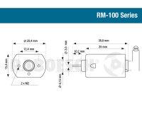 Elektromotor Blue RM-130 12V