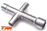 Werkzeug - Kreuzschlüssel (4, 5, 5.5 & 7mm) /...