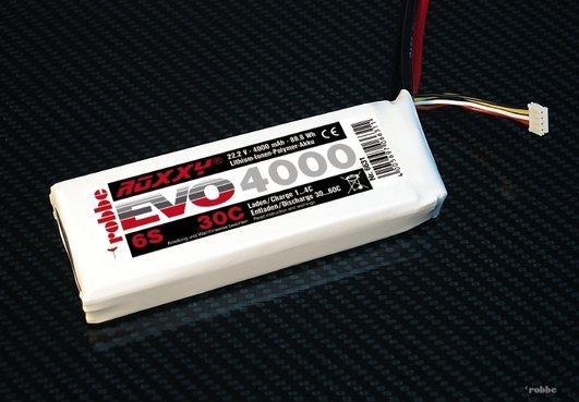 LIPO PACK ROXXY EVO 6-4000 30C