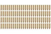 Goldkontakt Ø5,0mm 100 Buchsen |Yuki AM-609-100F