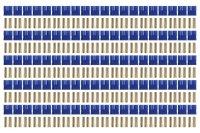 Goldkontakt EC3 100 Buchsen |Yuki AM-623-100F