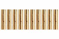 Goldkontakt Ø3,0mm 10 Buchsen |Yuki AM-603-10F