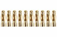 Goldkontakt Ø3,0mm 10 Stecker |Yuki AM-603-10M