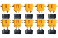 Goldkontakt XT60L 10 Stecker |Yuki AM-629-10M