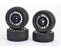 1:10 All Terrain 2WD Reifen-Set (4)