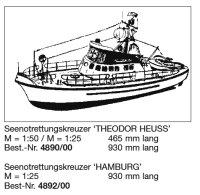 Bauplan HAMBURG 1:25