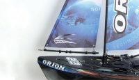 Orion V2 Segelboot, rot 46,5 cm, 2,4GHz