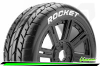 Louise RC - B-ROCKET - 1-8 Buggy Tire Set - Mounted -...