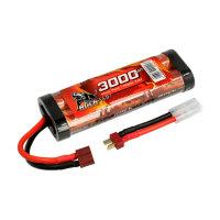 Robitronic NiMH Akku 3000mAh 7,2V Stick Pack T-Stecker...