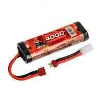 Robitronic NiMH Akku 4000mAh 7,2V Stick Pack T-Stecker...