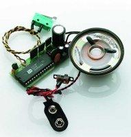 Soundmodul klein Benzin/Diesel-Motor mit Horn