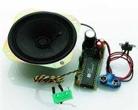 Soundmodul groß Benzin/Diesel-Motor mit Horn