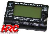 Battery Analyzer - 1~8S - Checker & Balancer mit...