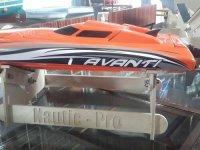 Nautic Pro CNC Monobootständer Größe 3