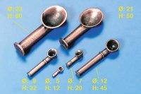 Lüfter Metall brüniert H50mm (VE2)