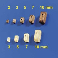 Blöcke 7mm (100 Stück)