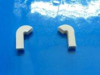 Nautic-Pro Schwanenhals Luefter 10 mm hoch 135 Grad 2 Stck