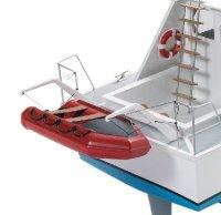 Schlauchboot/Dinghy GFK 125mm (ca. 1:25)