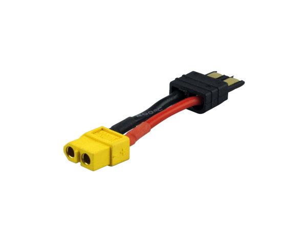 Adapter XT60 Buchse «-» TRAXXAS Stecker |Yuki 600126