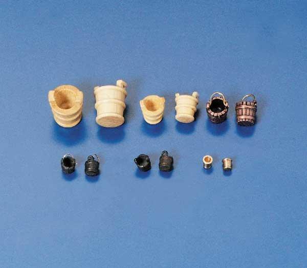 Eimer m.Griff 8mm Metall brüniert (10)