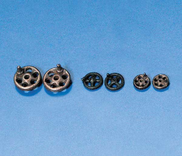 Handrad 5 mm Metall  (VE10)